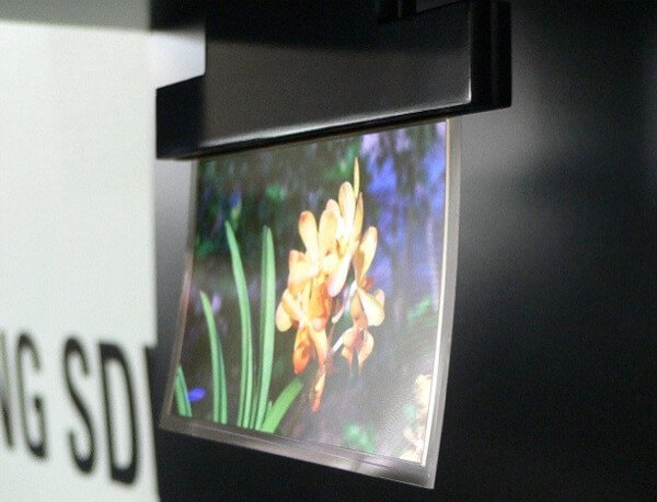 Flapping OLED Panel